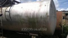 Емкость биметаллическая, объёмом 54 м³