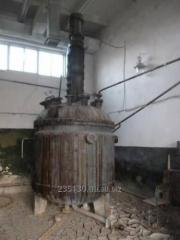 Реактор нержавеющий, объёмом  5 м³