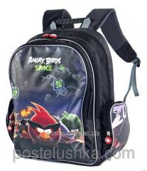 Angry Birds backpack black 0100385,00