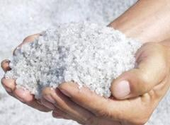 Technical salt, salt coarse grinding, 3rd grinding