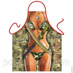 Apron erotic Military female