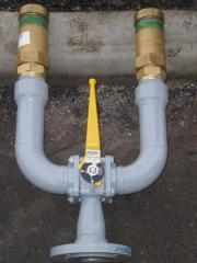 Краны шаровые газовые