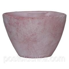 Flower pot, clay, lilac Mica Decorations 1002836