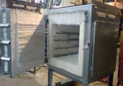 Electric furnaces, electric furnaces of resistance