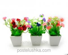 Цветы в горшке 16х7х7 см hl045