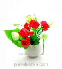 Цветы в горшке 16х7х7 см yyx058