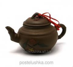 Чайник глиняный в подарочной упаковке 350мл.