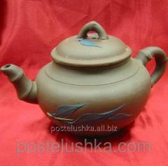 Чайник заварочный глиняный 17х10х10 см