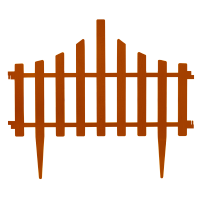 Set protection Small fence 4v1 Terracotta