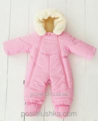 Overalls - a transformer fur 3010/02 pink ruble 68