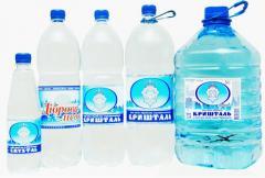 Воды негазированные
