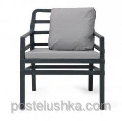 Aria chair with a pillow,