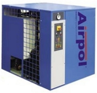 Dehumidifiers of refrigerating type of high