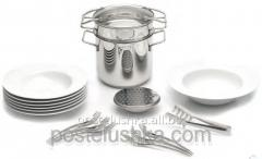 Set for macaroni of 20 objects, BergHOFF, an art.