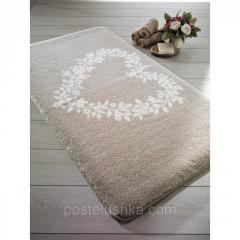 The Confetti bath mat - Spring of 57х100 cm Beige