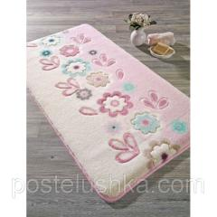 The Confetti bath mat - April of 57х100 cm Pink