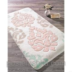 The Confetti bath mat - Damask of 57х100 cm