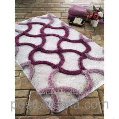 The Confetti bath mat - Hermos of 60х100 cm Cherry