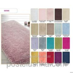 The Confetti bath mat - Miami of 57х100 cm White