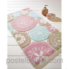 The Confetti bath mat - Rondo of 57х100 cm