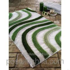 The Confetti bath mat - Sardes of 60х100 cm Green
