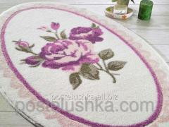 Confetti Rosa bath mat of pink 66х107 cm