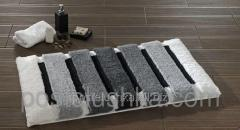Confetti Selinus bath mat anthracite of 60х100 cm