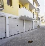 Ворота гаражные секционные линии VER