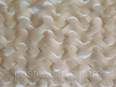 Camouflage Shelter Deco network of beige 1.5x6 m