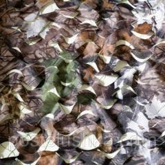 Camouflage Shelter Forest network of 1.5x6 m