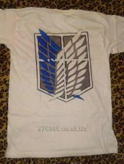 T-shirt with the drawing Article Rice-08
