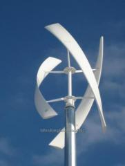 1 kW vertical wind generator low-speed highly