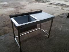 Able - a sink 1500х600х850 house-keeper (a bowl welded 500х450х300)