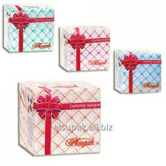Tissue with drawing Rombik 24×24 cm, 40 pieces