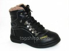 Детская зимняя обувь ботинки Шалунишка: 100-529. С
