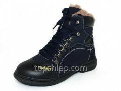 Детская зимняя обувь ботинки Шалунишка: 100-528. С