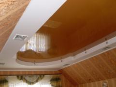 Натяжные потолки в Киеве, французские натяжные