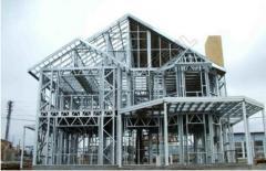 Быстромонтируемые здания из ЛСТК (Лёгкие стальные
