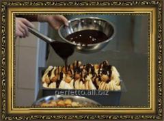 Frozen creamy Gelato, we make TM Perfetto eskimo