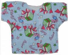 Baby's undershirts