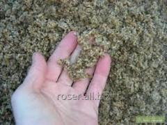 Сухая пивная дробина (гранулированная и не