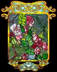 Tiffany's stained-glass windows color