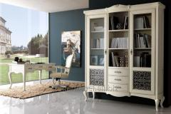Italian bookcase of Giorgio Casa, Casa Serena