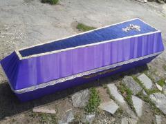 Izgotovlevayem coffins
