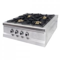 Плита 4-х конфорочная настольная с газовым контроллером Pimak MO15-4N