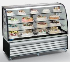 Витрина холодильная Tecfrigo Brio186Q cod.92+01 БН
