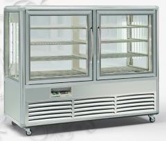 Витрина холодильная Tecfrigo KUBO 500 G Silver