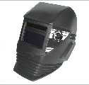 Mask of the welder with the automatic light filter