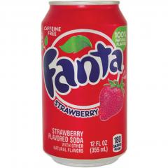 Напиток Fanta Strawberry