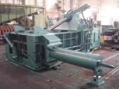 Пресс для металлолома